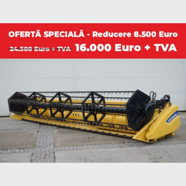 Heder NEW HOLLAND 24 X - 7.31 m